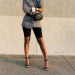 Blazers & Biker Shorts